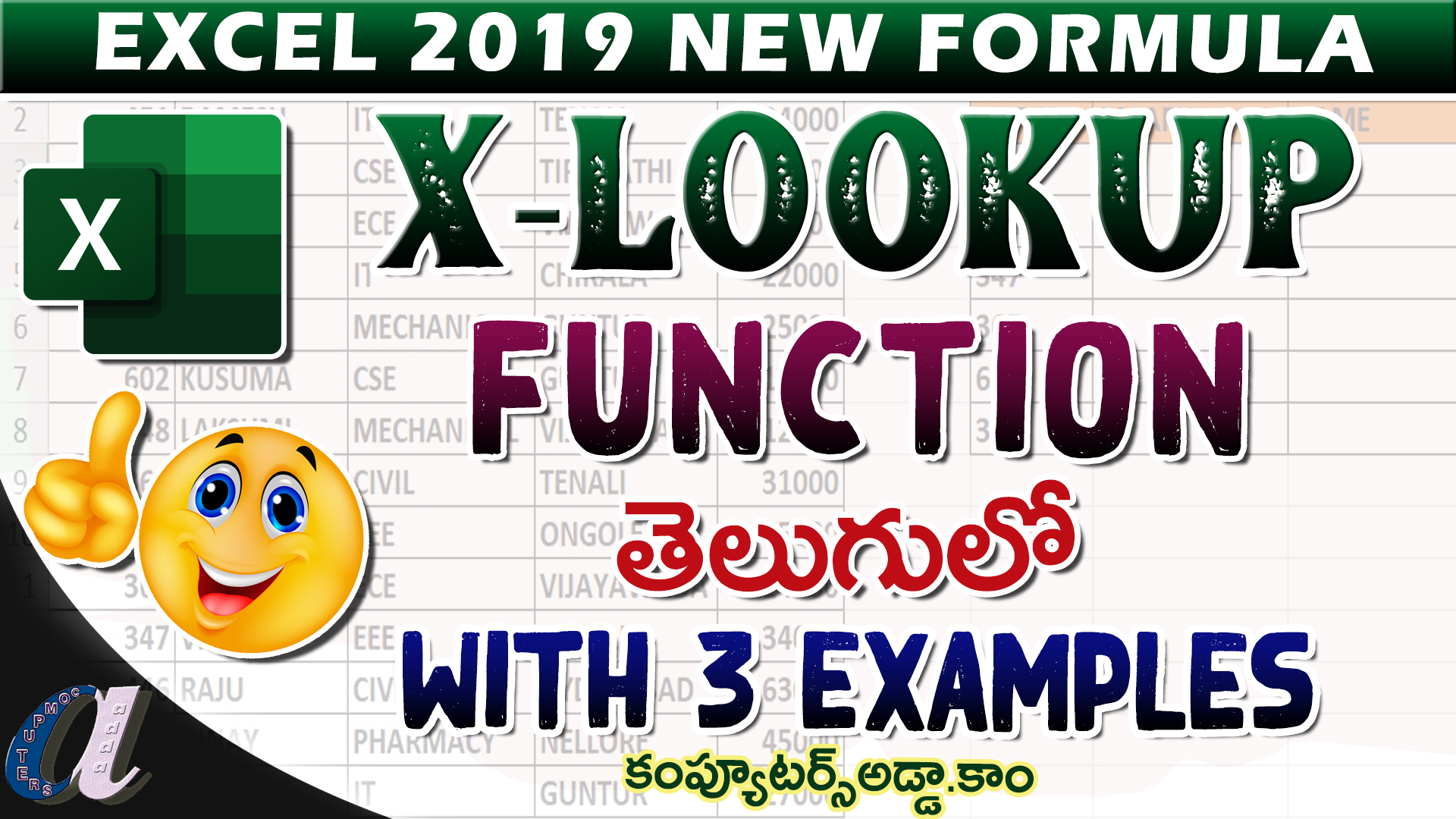 Ms Excel Advanced Functions Formats Files    Practice file ...